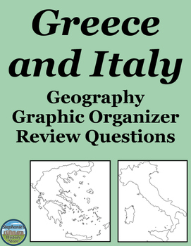 Geography Italy and Greece Review