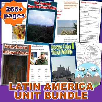 Latin America Unit (Geography) *Unit Bundle*