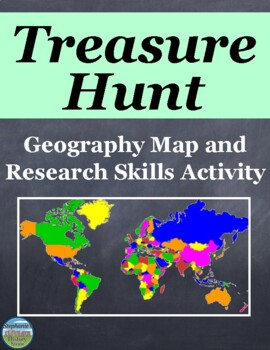 Geography Map and Research Skills Activity