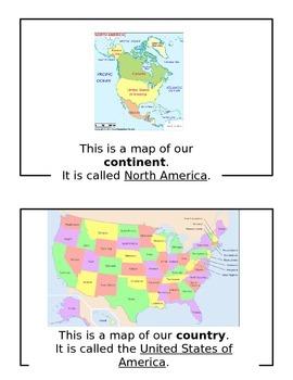 Geography Mini-Book