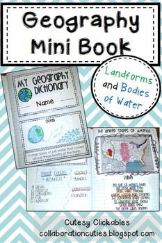 Geography Mini Book
