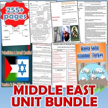 Middle East Unit (Geography)  *Unit Bundle* North Africa,