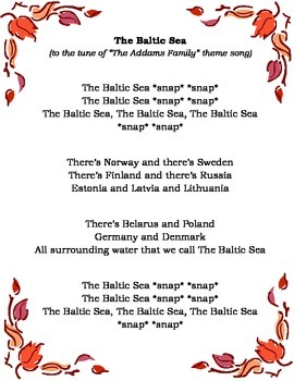 Geography: Northern Europe song (The Baltic Sea)
