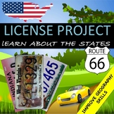 """State Project """"License Plate"""""""