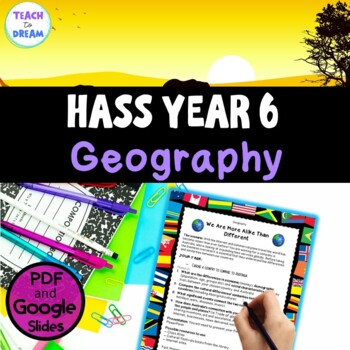 Year 6 Geography Project Australian Curriculum