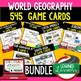 Geography Russia and Eurasia 39 I Have Who Has Game Cards