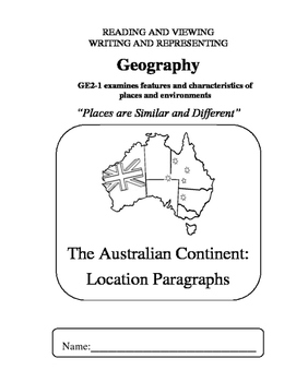 Geography - S2 - 01 Geographical Locations - writing booklet