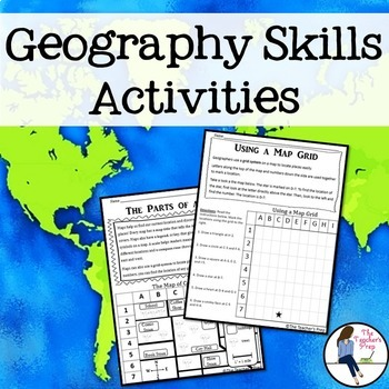 Geography and Map Skills Activities