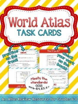 Geography Skills: Atlas Practice