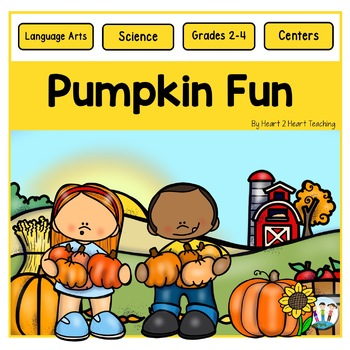 Pumpkins Everywhere! - A Non-fiction Activity Pack - Fall