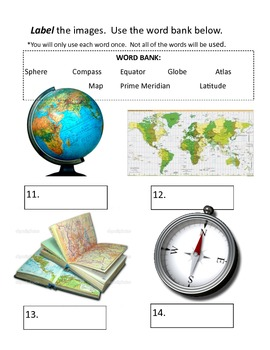 Grade 6 Geography Test