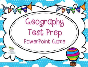 Elementary Geography Test Prep PowerPoint Game