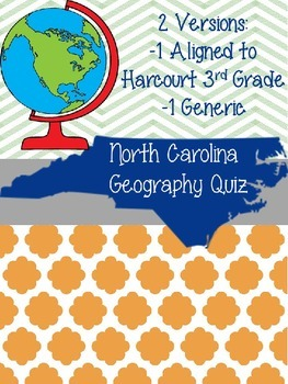 Geography Test and Study Guide (North Carolina and generic