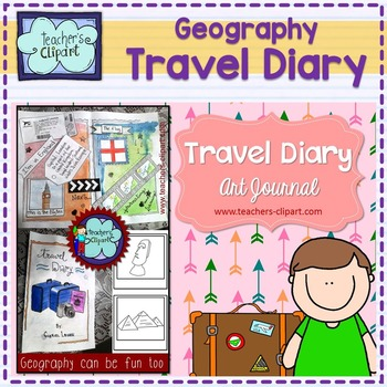 {Geography} Travel diary - art journal