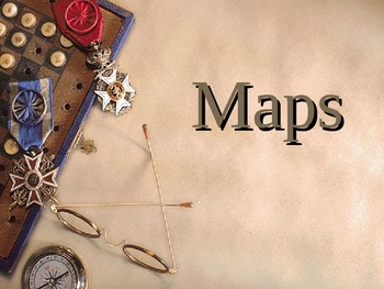 Geography: Types of Maps PowerPoint Physical/ Political an