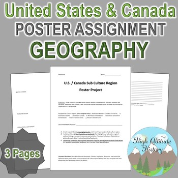 Geography: United States & Canada Tourism Culture Region P