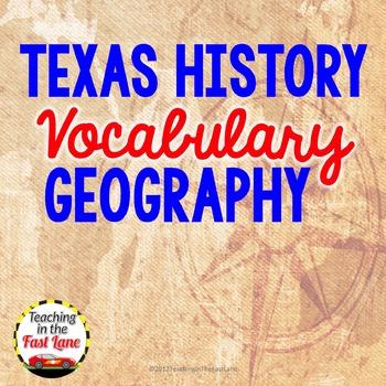 Geography Vocabulary Match Up