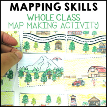 HASS Geography Whole Class Mapping Activity - learning geo