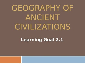 Geography of Ancient Civilizations