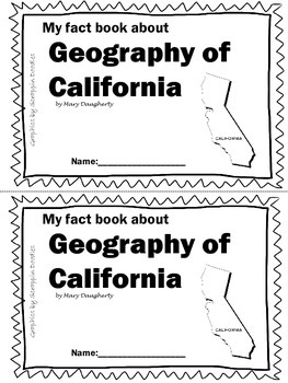 Geography of California-NonFiction Reader