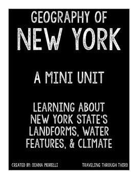 Geography of New York Mini Unit