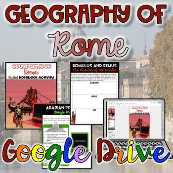 Geography of Rome Digital Activity {Google Drive}
