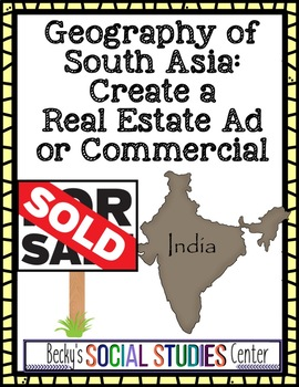 Geography of South Asia (India) Project - Real Estate Ad o