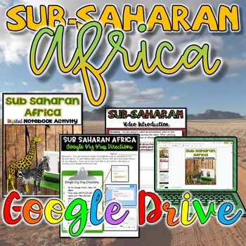 Geography of Sub-Saharan Activity {Google Drive}