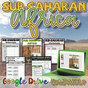 Geography of Sub-Saharan Africa Activity