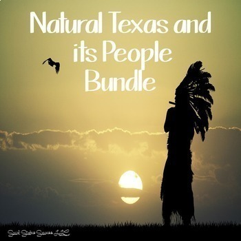 Geography of Texas and American Indians Bundle