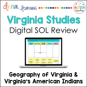 Virginia's Geography & American Indians Google Drive Revie