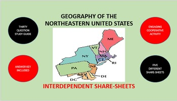 Geography of the Northeastern United States: Share-Sheets