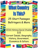 What Country? Geography, History, Economics Readings CCSS