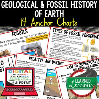 Earth Science Geological and Fossil History of the Earth A