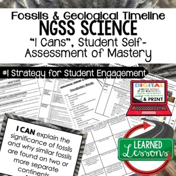 Earth Science Geological & Fossil History Earth Self Asses