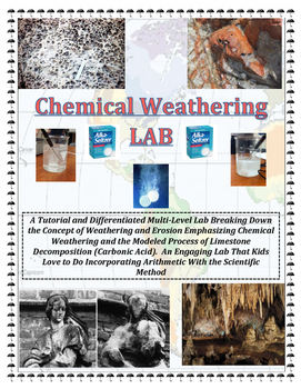 Geology: CHEMICAL Weathering-2 LABS (Materials Optional).