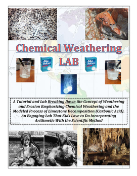 Geology: CHEMICAL Weathering LAB (Simulates Weathering of