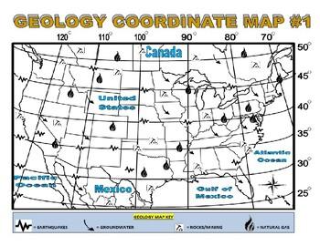 Geology Map (Latitude / Longitude)