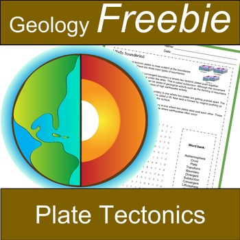 Plate Tectonics Freebie: Divergent, Transform and Converge