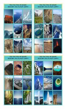 Geology and Planet Earth Tic-Tac-Toe or Bingo