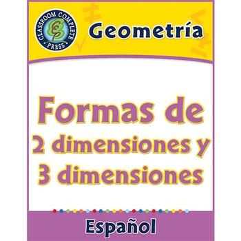 Geometría: Formas de 2 dimensiones y 3 dimensiones Gr. 3-5