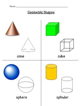 Geometric 3D Shapes