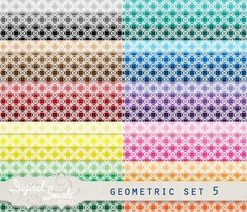 Geometric Background Set 5