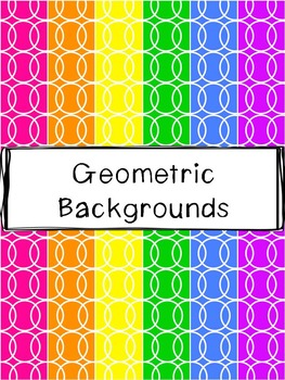 Geometric Backgrounds Clipart