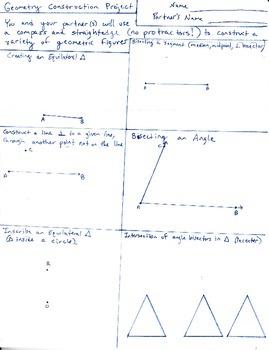 Geometric Construction Project