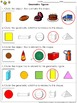 Geometric Figures: Compare 3-D Figures and Plane Shapes Pr