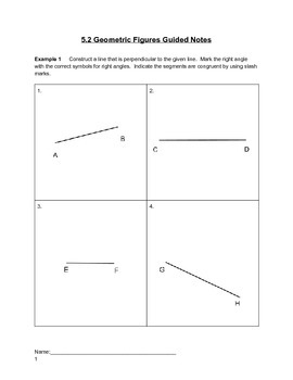 Geometric Figures Lesson 2 of 7