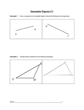 Geometric Figures Lesson 7 of 7