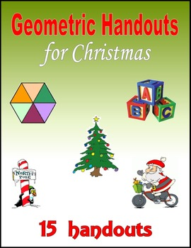 Geometric Handouts for Christmas