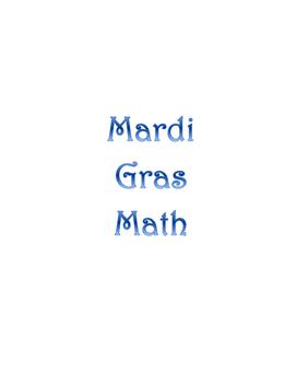 Geometry: Mardi Gras Math Float